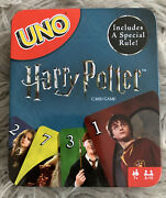 Uno Harry Potter Card Game 2018 Mattel Sorting Hat Rule Edition