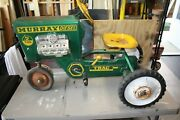 Vintage Early 1960's Childs Murray 2 Ton Diesel Pedal Tractor Item 13-x