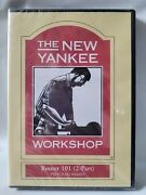 New The New Yankee Workshop - Router 101 Dvd 0606d 2-part, 2006 Sealed