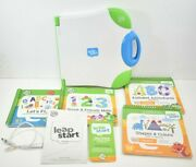 Leap Frog Leap Start Interactive Learning System Reader4 Books Usb Cable Parent