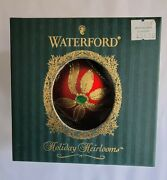 Waterford Ashling Ball Holiday Heirlooms Christmas Holiday Ornament