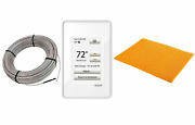 Schluter Ditra Radiant Floor Heating Kit Programmable Thermostat Membrane Cable