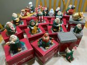 Huge Boxed Collection Of Porcelain Merry Makers By Department 56 Pristine