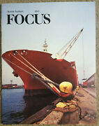 Ns Norfolk Southern Focus Magazine 89/3 1989 Rubber Crossing Safety Glass