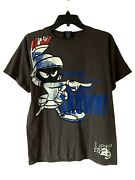 Rare Vintage 00s Lot 29 Marvin The Martian Looney Tunes Official T-shirt Size Xl