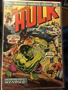 The Incredible Hulk 180 Oct 74' 1st Appearance Of Wolverine All Original