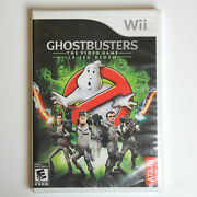 Ghostbusters The Video Game Nintendo Wii, 2009 New With Imperfections