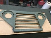 Military Truck M151a2 Front Complete Grill Grille Nos Body Panel