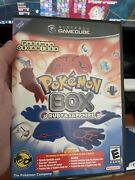 Pokemon Box Ruby And Sapphire - Used, Has Inserts, Gc-gba Cable, Memory Card