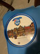 Vintage Heilemanand039s Old Style Cool Brewed - Purely By Nature Metal Beer Tray