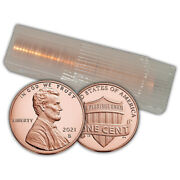 2021 S Proof Lincoln Shield Cent Roll Of 50