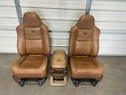 1999-2010 Ford F250 F350 F450 Super Duty King Ranch Front Seats