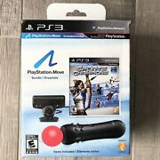 Playstation Move Bundle Ps3 Motion And Sports Champions Bundle New Open Box