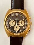 Breitling Vintage Gold Plated Chronograph 928