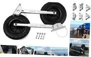 Deluxe 4 By 4 Boat Launching Dolly With 14 Wheels System Commercial Grade