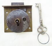 Vintage Chest Lock And Key