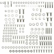 For Small Block Chevy Sbc 350 383 327 Stainless Steel Engine Bolt Kit Head