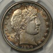 1899-s Barber Half Dollar Pcgs And Cac Au-55. Pop 1 At Cac And Only 1 In 58 Wow