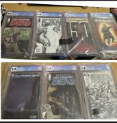Image Skybound The Walking Dead Lot Of 7 Cgc 9.8 Graded Comics Brand New