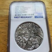2016 P The Norse Gods Odin High Relief Antiqued 2 Oz Silver 2 Coin Ngc Pf70 Fr