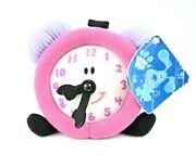 Nos Vintage Eden Blues Clues Tickety Tock Clock Plush Soft Toy With Tag