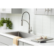 Commercial Style Singlehandle Pull-down Sprayer Kitchen Faucet Multiple Finishes