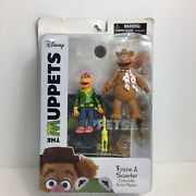Disney The Muppets Fozzie Scooter Collectable Action Figures Diamond Select Toy
