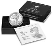 3 2021-w American Eagle One Ounce Silver Proof 21ean Type 2 Confirmed Order