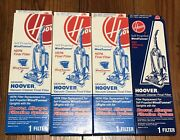 4 Hoover Vacuum Cleaner Hepa Final Filters Windtunnel 43613-022 -021 Usa New M6