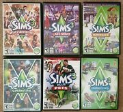6 Sims3 Expansion Packs Pc