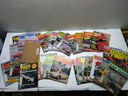 Vintage Lot-66 Car Magazines-1960and039s-1970and039s Vw Greats/roadtest/foreign Car/porsch