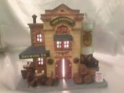Christmas Village Pizza And Brewery Co. Restaurant Lemax Coventry Cove 25761 Olde