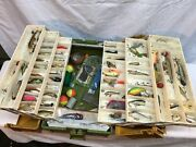Large  6 Tray Tackle Box Full Of Fishing Lure's