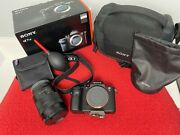 Sony Alpha A7s Ii A7sii 12.2mp 4k Full Framew/lens And Extras Kit Discount Bundle