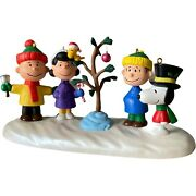 Hallmark Peanuts A Charlie Brown Christmas Complete Set Of Four Ornaments