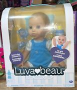 Luvabeau/luvabella Interactive Nib Baby Boy Doll With Expressions And Movement