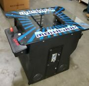 Full Size Arcade Game Table Multicade 412 Classic Games Commercial Grade