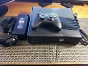 Microsoft Xbox 360 Slim Console 250gb Game System Complete W Controller And Cables