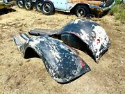 1935 36 37 Ford 1 1/2 Ton Truck Fenders Running Boards Aprons Possible Greyhound