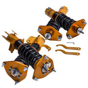 4x Coilovers Damper Kit For Subaru Brz 13-upfor Toyota Gt86 86 W/ Camber Plates