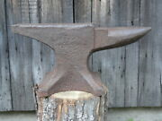 Hay Budden Anvil Blacksmith Tinsmith Farrier Small Size 83 Lbs. Swage Forge Tool