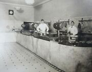 Bakersfield Ca Kern County Photo Butcher Meat Market Store Interior Counter 1923