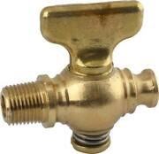 Radiator Drain Cock - Replacement Type - Brass - Ford 32-24552-1