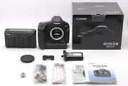【 Exc+++++ In Box 】canon Eos 1d Mark Iv Body 16.1mp Dslr Camera From Japan
