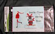 Lang Santa Claus Is Coming To Town Mailbox Cover Standard Box Wrap W/numbers