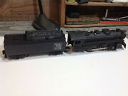 Marx 666 Locomotive Steam Engine O Scale With Grand Trunk Western Tender