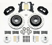 Wilwood Narrow Superlite 6r Front Hub And 1pc Rtr Kit 12.88in Dril For 60-68 Ford