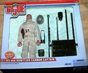 Gi Joe Wwii 155-mm Howitzer Cannon Captain Action Figure
