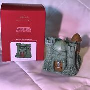 Hallmark 2021 Castle Grayskull He-man Masters Of Universe Sold Out Htf Ornament