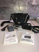 Canon Powershot G10 14.7mp Digital Camera - Black - With Manuals And Extras